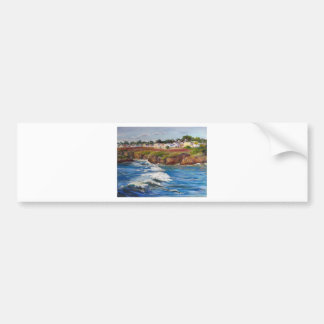 Mendocino Village Bumper Sticker
