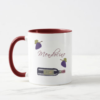 Mendocino Vintage Wine Mug