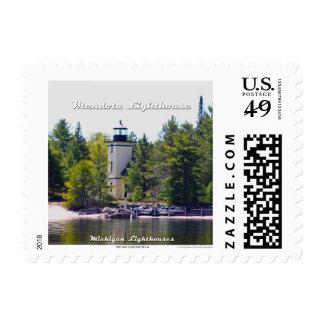 Mendota (Bete Grise) Lighthouse: 1st Class Postage