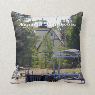 Mendota (Bete Grise) Lighthouse Pillow