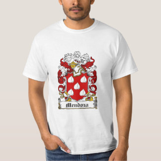 Mendoza Family Crest - Mendoza Coat of Arms T-Shirt