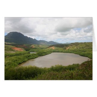 Menehune Fish Pond Kauai Card