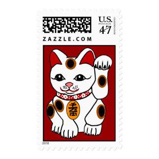 Meneki Neko, gato Bobtail japonés Sellos