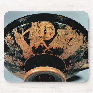 Menelaos, accompanied by Aphrodite Mouse Pad