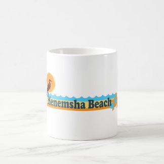 Menemsha Beach - Beach Design. Classic White Coffee Mug