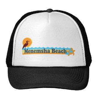 Menemsha Beach - Beach Design. Trucker Hat