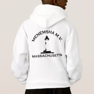 Menemsha Beach - Lighthouse Design. Hoodie