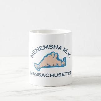 Menemsha Beach - Map Design. Classic White Coffee Mug