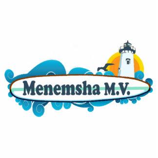 Menemsha Beach. Photo Sculpture Button