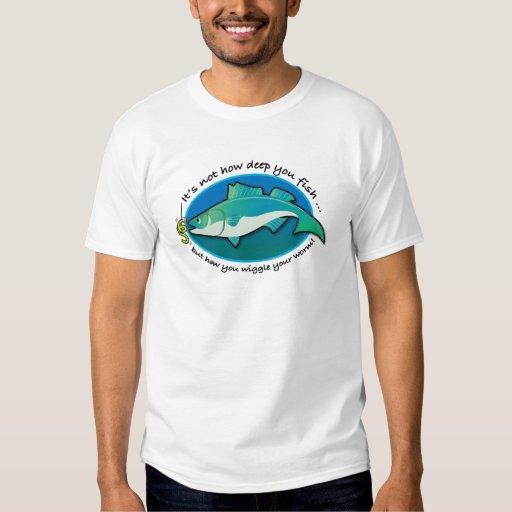 Meneo de los pescados camisas