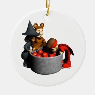 Meneo para las manzanas adorno de navidad