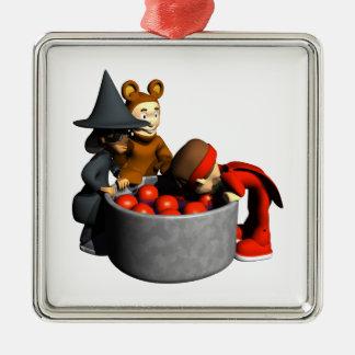 Meneo para las manzanas ornamento de navidad