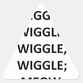 Meneo Pegatinas De Trianguladas