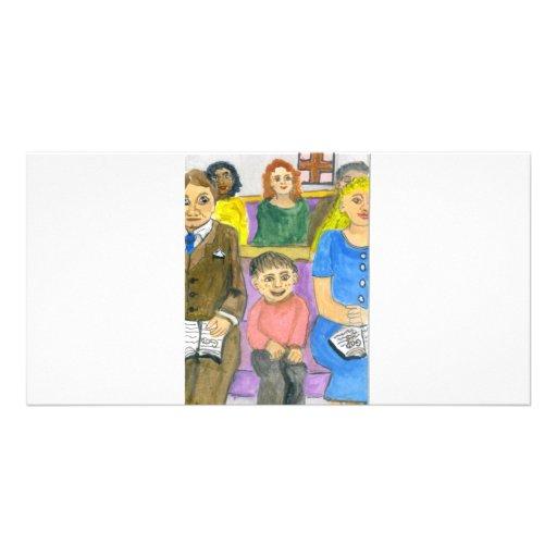 meneo tarjeta fotografica personalizada
