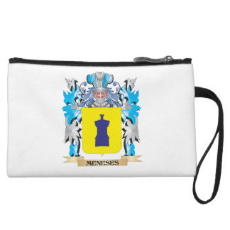 Meneses Coat of Arms - Family Crest Wristlet Purse