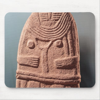 Menhir statue no.4, from Saint-Sernins-sur-Rance Mouse Pad