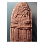 Menhir statue no.4, from Saint-Sernins-sur-Rance Postcard