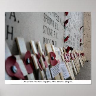 Menin Gate War Memorial Ypres Posters