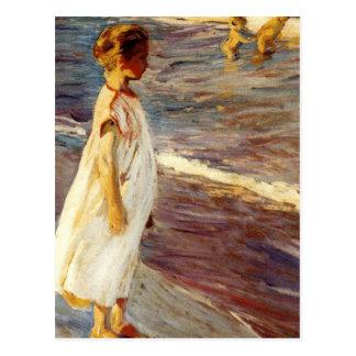 Menina - Joaquin Sorolla Postcard