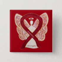 Meningitis Angel Awareness Ribbon Pins