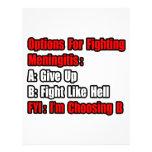 Meningitis Fighting Options Letterhead Template