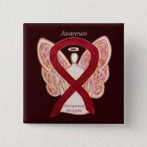Meningococcal Meningitis Awareness Ribbon Pins