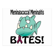 Meningococcal Meningitis BITES Postcard