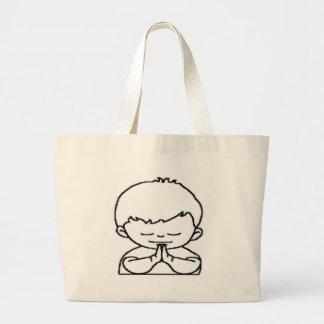 menino.png large tote bag