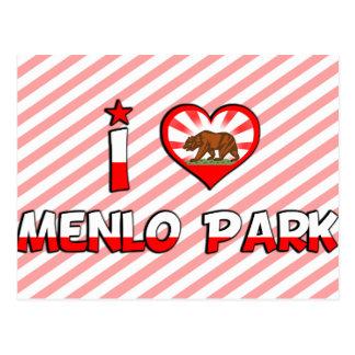 Menlo Park, CA Tarjeta Postal