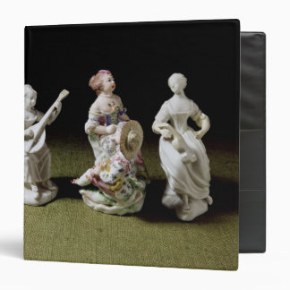 Mennecy porcelain group of a singer binders