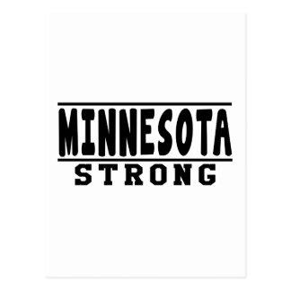 Mennesota Strong Designs Postcard