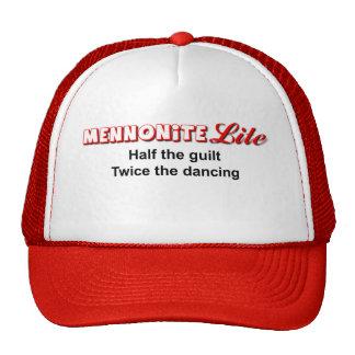 Mennonite Lite Funny Hat Humor