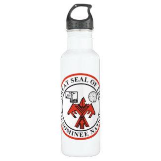 Menominee Seal Water Bottle