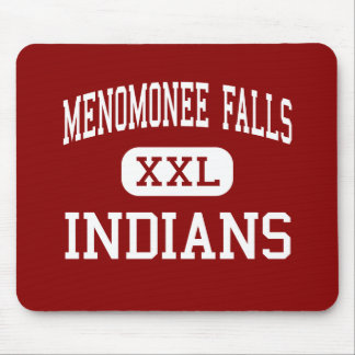 Menomonee Falls - Indians - High - Keshena Mouse Pad