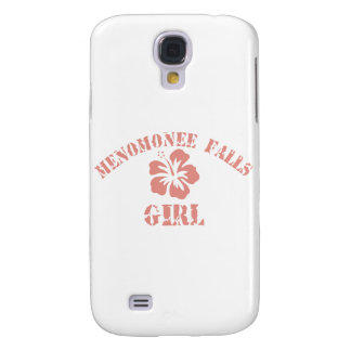 Menomonee Falls Pink Girl Samsung Galaxy S4 Case