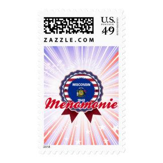 Menomonie, WI Postage Stamps