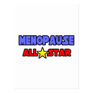 Menopause All Star Postcard