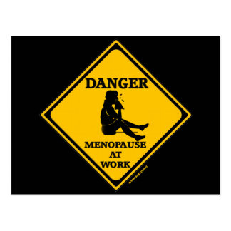 Menopause At Work T-shirts and Gifts For Her Postcard