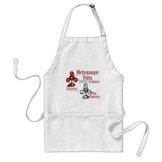 Menopause Fan Adult Apron