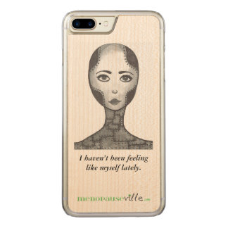 Menopause humor, phone case, iPhone, Samsung, iPad Carved iPhone 8 Plus/7 Plus Case