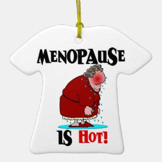 Menopause is Hot Christmas Tree Ornament