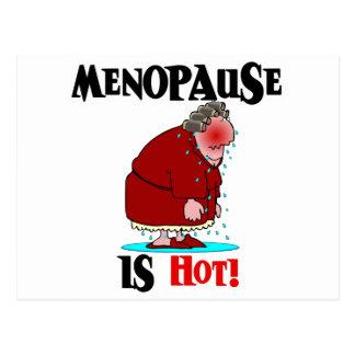 Menopause is Hot Postcard