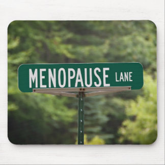 Menopause Lane Mouse Pad
