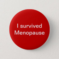 Menopause Party Buttons