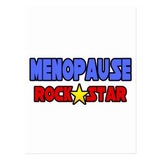 Menopause Rock Star Postcard