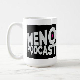 Menopodcast Logo Mug - 15 Oz