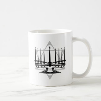 Menorah and Star Coffee Mug