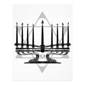 Menorah and Star I Letterhead