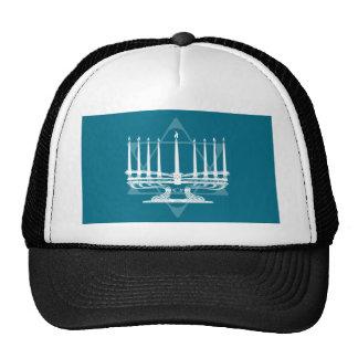 Menorah and star IV Trucker Hat