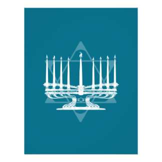 Menorah and star IV Letterhead